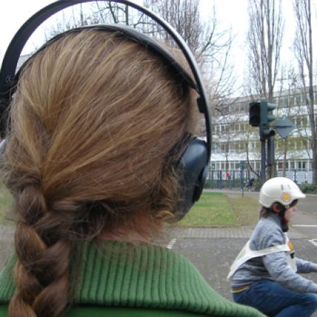 Begehung des Audiowegs